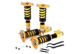 Yellow Speed Dynamic Pro Sports Coilovers - Subaru