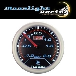 "Autogauge 2"" AU Smoked Boost Gauge (PSI)"