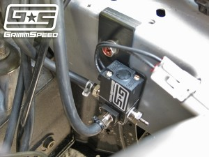GrimmSpeed Electronic Boost Control Solenoid 3-Port - Mitsubishi Evo X