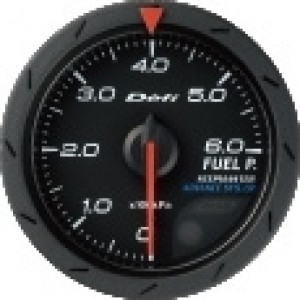 Defi Link Advance CR Gauge - Fuel Pressure 52mm Black