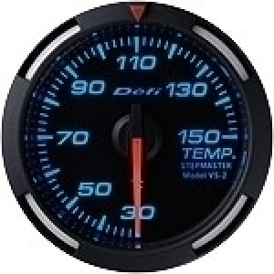 Defi Racer Series - 52mm Temperature (White/Red/Blue)