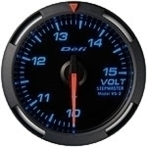 Defi Racer Series - 52mm Voltage (White/Red/Blue)