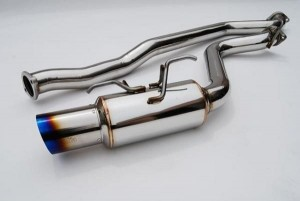 Invidia Cat-Back Exhaust - Subaru WRX/STi 2008-2010 Hatch (Ti Tip)