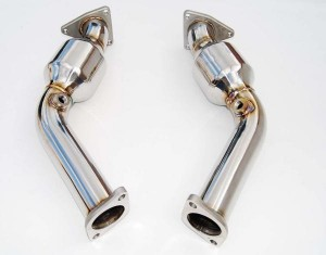 Invidia Catted Test Pipes - Nissan 370Z/G37
