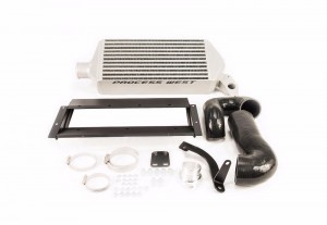 Process West Top Mount Intercooler Kit - Subaru 2005-2009 Legacy GT (Silver)