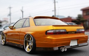 Origin Labo Boot Wing - Nissan S13 FRP