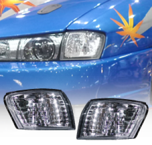 MLRacing Crystal Front Corner Lights - Nissan Silvia S14 FL