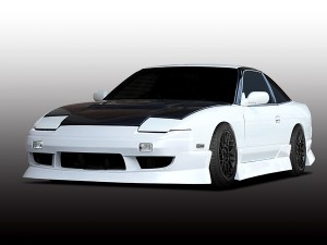 Origin Labo Aggressive Line Body Kit - Nissan 180SX