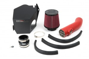 GrimmSpeed Cold Air Intake - Subaru 08-14 WRX/STI, 09-13 Forester XT (Red)