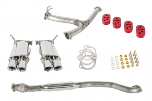 GrimmSpeed Resonated Cat-Back Exhaust - Subaru WRX/STI 2011-2019 (Sedan Only)