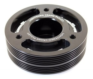 GrimmSpeed Lightweight Crank Pulley - All EJ Subaru Motors (Black)