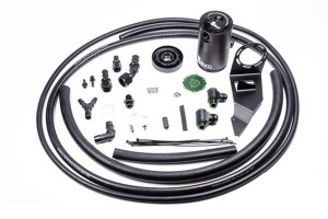 Radium Engineering Air Oil Separator Kit - Subaru WRX/STi 2002-2007