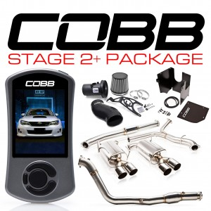 COBB Tuning Stage 2+ Power Package - Subaru WRX 2011-2014 (AUDM/NZDM Only)