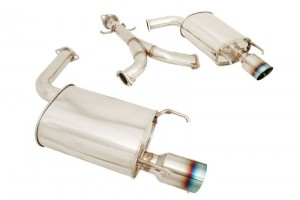 Megan Racing OE-RS Axle Back Exhaust System - Lexus GS 2006-2011