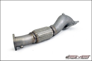 AMS Performance Widemouth Down Pipe - Mitsubishi Evo X 2008-2016