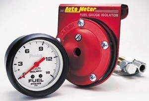 "Autometer 2-5/8"" Phantom Analog (5813) Fuel Pressure, 0-15 psi"