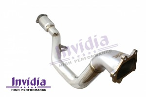 Invidia Catted Down-Pipe - Subaru WRX 2008-2014 / STI 2008-2018