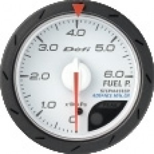 Defi Link Advance CR Gauge - Fuel Pressure 52mm White