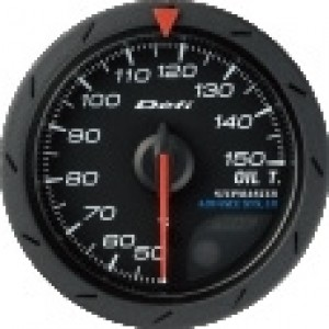 Defi Link Advance CR Gauge - Oil Temp 52mm Black