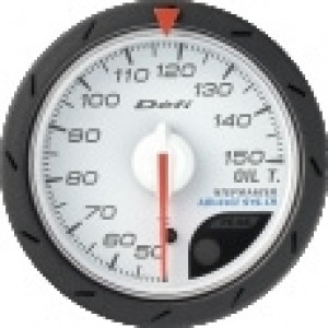 Defi Link Advance CR Gauge - Oil Temp 52mm White