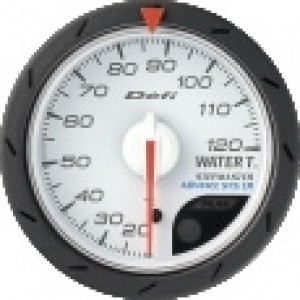 Defi Link Advance CR Gauge - Water Temp 52mm White