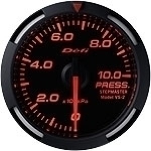 Defi Racer Series - 52mm Pressure (White/Red/Blue)
