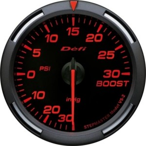 Defi Racer Series - 60mm PSI Boost (Red)