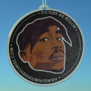 Hangin' with the Homies Air Freshener -  Tupac