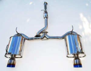 Invidia Q300 Cat-Back Exhaust - Honda S2000 (Rolled Titanium Tips)