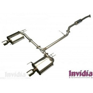 Invidia Q300 Cat-Back Exhaust - Honda Accord CL7/9