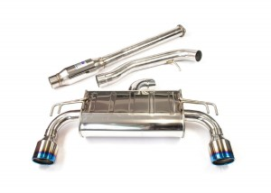 Invidia Q300 Cat-Back Exhaust - Mitsubishi Evo X
