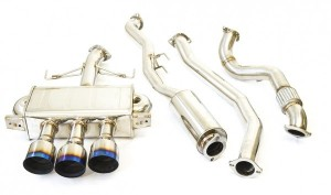 Invidia Q300 Cat-Back Exhaust - Honda Civic Type R FK8