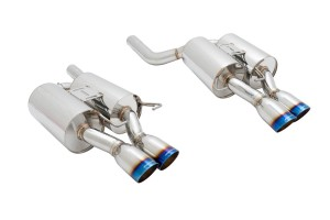 Megan Racing Supremo Exhaust - BMW M5 05-10 (Burnt Roll Tip)