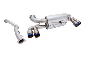 Megan Racing Supremo Exhaust - BMW 1M 2011+ (Burnt Roll Tip)