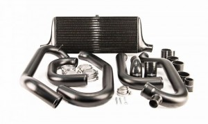 Process West Front Mount Intercooler Kit - Subaru 1997-2000 GC8 (Black)
