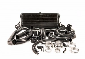 Process West Front Mount Intercooler Kit - Subaru WRX STI 2008-2014 (Black)