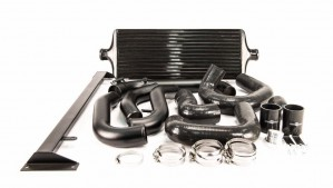 Process West Front Mount Intercooler Kit - Subaru WRX 2008-2014 (Black)