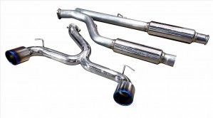 Injen Cat-Back Exhaust - Ford Focus RS 2016-2018