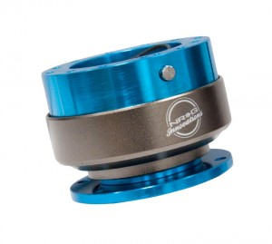 NRG Innovations Quick Release Gen 2.0 - Blue/Titanium