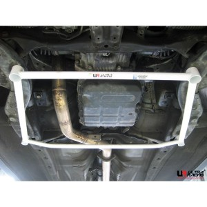 Ultra Racing Front Lower Bar - Subaru Forester SG5 (4 Point)