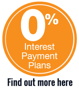 Interest free finance available!