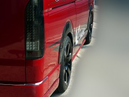 Roadster Wide Flares - Toyota Hiace 2005-2018 10mm Wide