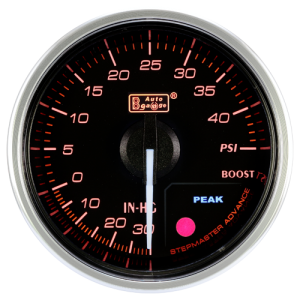 Autogauge 60mm Premium Series Gauge - Boost