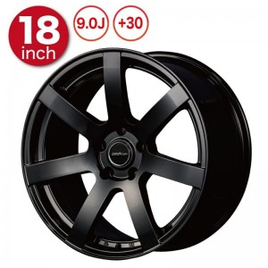 Origin Labo DRF-X7 Wheels - 18x9 +30 Black (Pair)