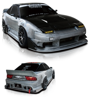 Origin Labo Fujin Body Kit - Nissan 180SX