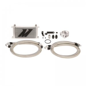 Mishimoto Thermostatic Oil Cooler Kit - Subaru WRX/STI 2008-2014 (Silver)