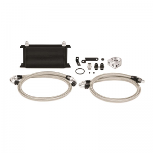 Mishimoto Thermostatic Oil Cooler Kit - Subaru WRX/STI 2008-2014 (Black)