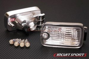 Circuit Sports Front LED Bumper Lights - Nissan 180SX