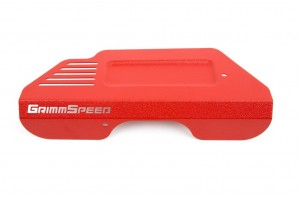 Grimmspeed Pulley Cover - Subaru BR-Z/Toyota 86 (Red)