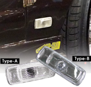 MLRacing Clear Side Lights - Nissan 180SX (Type A)